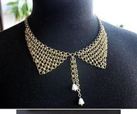 How To Make A Wire Chain Collar