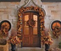 Gorgeous Autumn Front Entrance