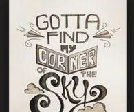 Corner in the sky