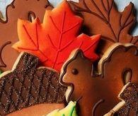 Fall cookies