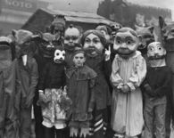 Halloween Costumes in the Past