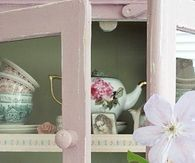 Shabby Chic China Cupboard
