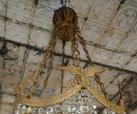 Antique Vintage Crystal Chandlier