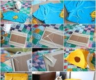 How To Make A Cat Tent From An Old T Shirt