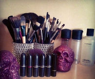 Makeup brush cans