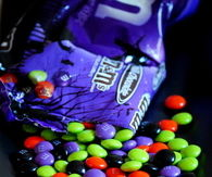 M&M Halloween Candy