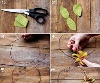 DIY Autumn Flower Crown