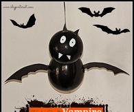 Vampire bat decoration