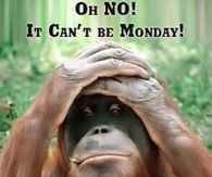 It can't be Monday