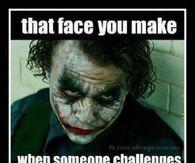 face you make