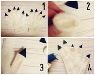 How To Make Halloween Monster Claws
