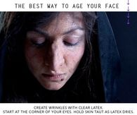 Age Your Face For Halloween