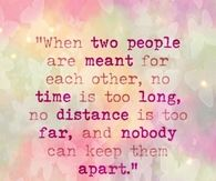 when two people are meant to be