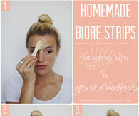 DIY Biore Face Strips
