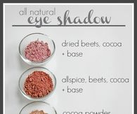 DIY All Natural Eye Shadow