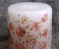 Make Your Own Flower Candles