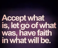 accept and let go