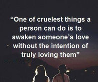 one of the cruelest things