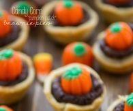 Pumpkin Brownie Mini Pies
