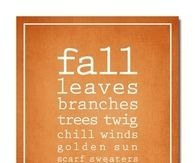 Fall is...