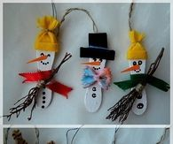 DIY Popsicle Ornaments