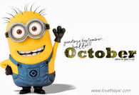 Hello October Minion