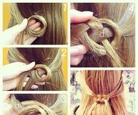 DIY Infinity Knot Hair