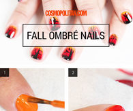 DIY Fall Ombre Nails