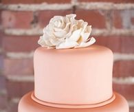 Beautiful Pink Wedding Cake