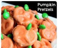 DIY Pumpkin Pretzels