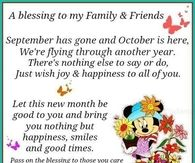 October Blessings