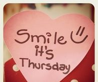 Smile it's thursday