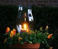 Autumn Outdoor Candle