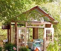 Converted Shed into a Cozy Outdoor Room