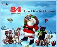 84 days till Christmas