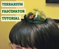 DIY Terrarium Fascinator Tutorial