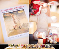 Velveteen rabbit baby shower
