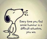 Humour wins