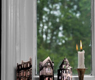 Mini Ghost Town Candles