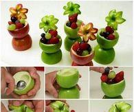DIY Apple Fruit Cups