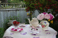 A spot of tea in the garden