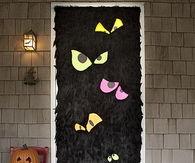 Scary Eyes Front Door