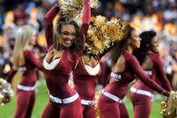 Redskins Cheerleaders are in full gear