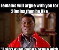 Females be like