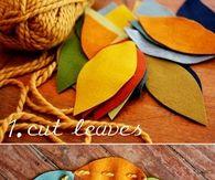 DIY Autumn Garland