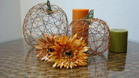 Thread pumpkins