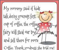 the coffee fairy