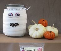 DIY Candle Mummies
