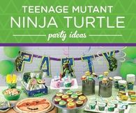 Teenage Mutant Ninja Turtles Party Theme