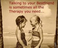 talking to your best friend